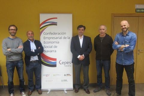 Ignacio Ugalde elegido presidente de la Confederación Empresarial de la Economía Social de Navarra