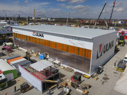 Importante despligue de ULMA Construcción en la feria Bauma, en Munich