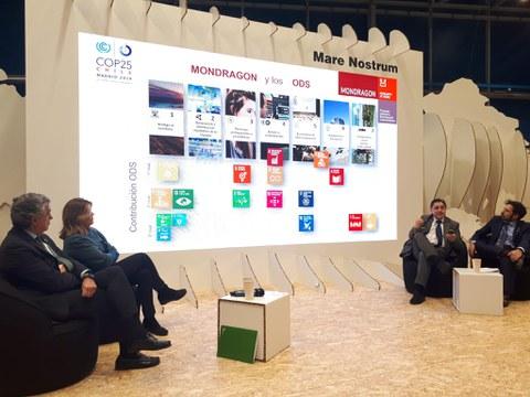 MONDRAGON participa en la cumbre sobre el cambio climático COP25 con una ponencia sobre su aportación a la sociedad