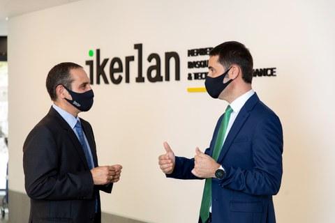 Ion Etxeberria releva a Marcelino Caballero como director general de Ikerlan