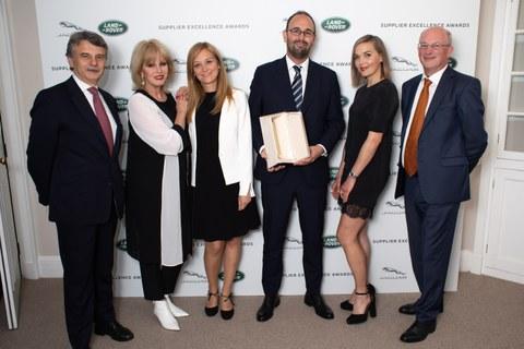Jaguar Land Rover reconoce a BATZ como uno de sus mejores proveedores globales