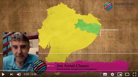 """Jon Arruti (Mundukide): """"No coincide lo que dicen el Gobierno y otras fuentes"""""""