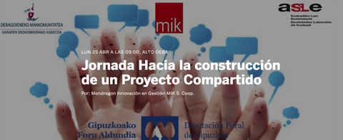 """Jornada: """"Hacia la construcción de un proyecto compartido"""""""