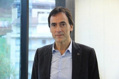 Juan Andrés Joaristi, presidente del Consejo Rector de ATEGI