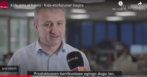 KIDE concentrará toda su producción en Berriatua para septiembre de 2022
