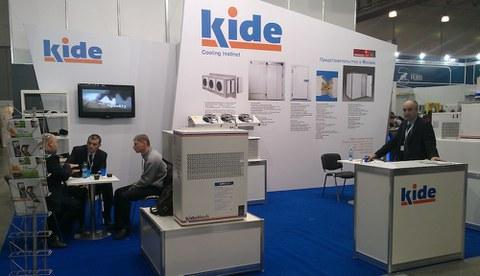 Kide expone sus productos en Rusia
