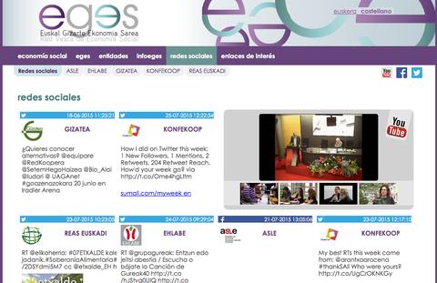 Konfekoop estrena la nueva web de EGES, la Red Vasca de Economía Social