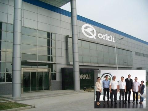 La Asociación Nacional China de Componentes visita Orkli Kunshan