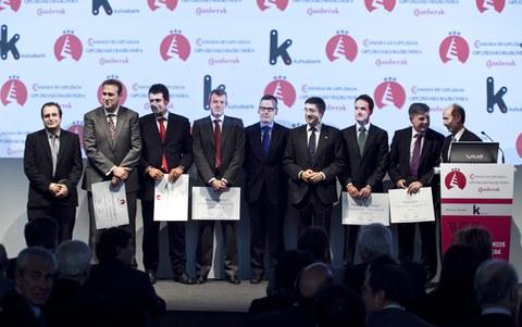 La Cámara premia al Grupo LKS por su trayectoria