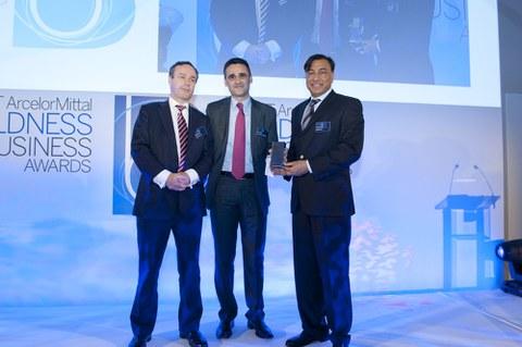 """La Corporación MONDRAGON, recibe el  premio """"Boldnessin Business"""" de Financial Times"""