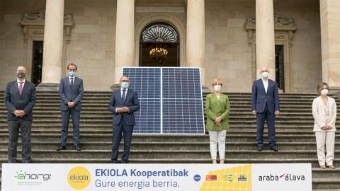 La Diputación Foral, el Gobierno Vasco y Krean impulsarán seis cooperativas energéticas en las Cuadrillas alavesas