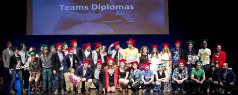 La Facultad de Empresariales ha entregado los diplomas de grado y postgrado