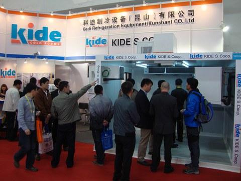 La filial de Kide en China ha participado en la feria Refrigeration Exhibition
