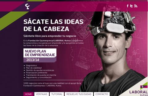 La Fundación Gaztenpresa/Laboral Kutxa impulsa el nuevo plan de emprendizaje 2013-14