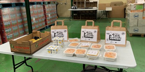La iniciativa Los Salvacomidas termina con la entrega de 60.000 menús infantiles saludables