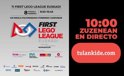 FLL Euskadi-MONDRAGON en directo a través de TU Lankide