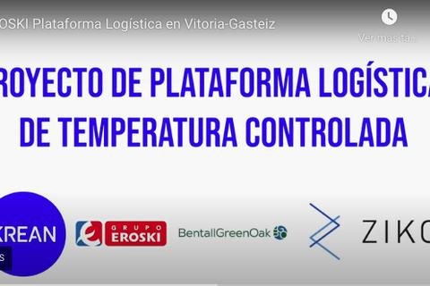 La nueva plataforma logística de Eroski en Vitoria-Gasteiz finalizada y en plena actividad