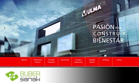 La web del Grupo Ulma Premio Buber 2015