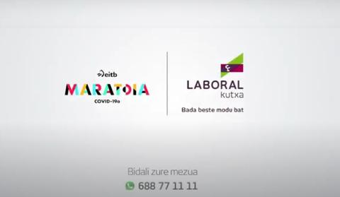 LABORAL Kutxa colabora con la iniciativa EITB Maratoia