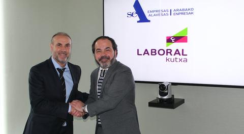 LABORAL Kutxa firma un acuerdo para impulsar la competitividad de las empresas alavesas