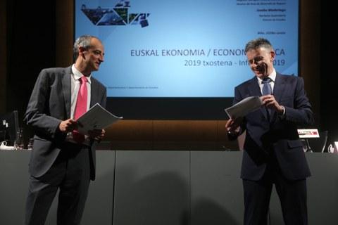 Laboral Kutxa presenta su informe anual de economía