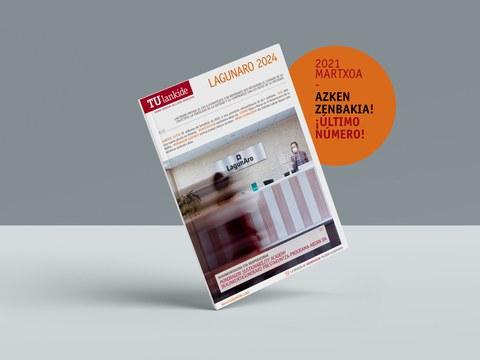 La revista TU Lankide analiza el futuro de LagunAro