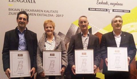 Las cooperativas de MONDRAGON acaparan un tercio de las certificaciones BIKAIN de 2017