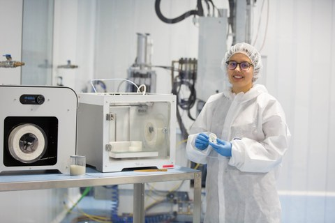 Leartiker desarrolla filamentos que se usan para la fabricación de dispositivos médicos