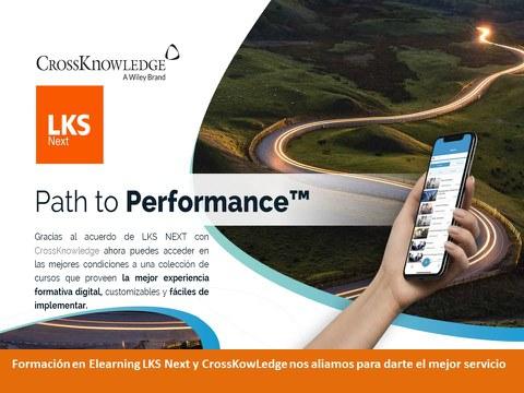 LKS Next alcanca un acuerdo con CrossKnowledge para la formación digital