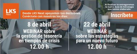 """LKS Next lanza un """"HELPDESK"""" financiero para apoyar a las empresas en estos momentos de crisis"""