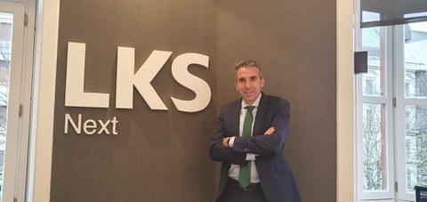 LKS Next refuerza su área de Corporate con la incorporación de Jon Erdozia