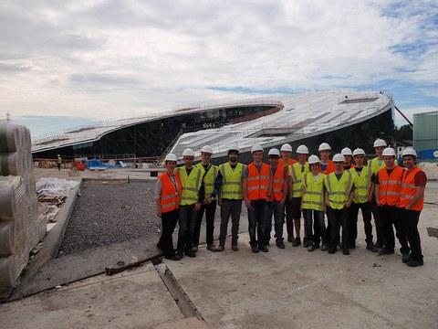 Los alumnos del Máster en Ingeniería Industrial visitan Orona IDeO-innovation city