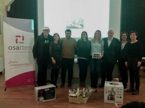 Maria Mariezkurrena es la ganadora del concurso Tupper Saludable