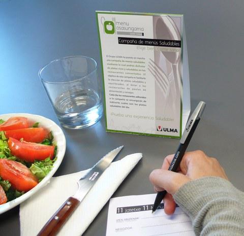 Más de cuatro mil menús saludables servidos en la campaña impulsada por el Grupo Ulma