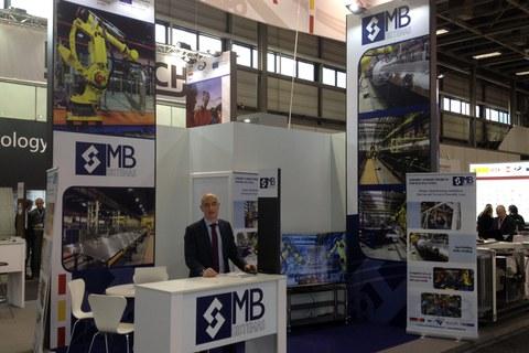 MB SISTEMAS presenta sus soluciones desarrolladas para el sector del ferrocarril en la feria INNOTRANS de Alemania