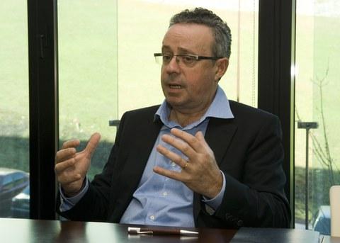 """Mikel Álvarez: """"En la Corporación tenemos empresas muy capacitadas para ofrecer nuevos servicios y productos en el sector de la salud"""""""
