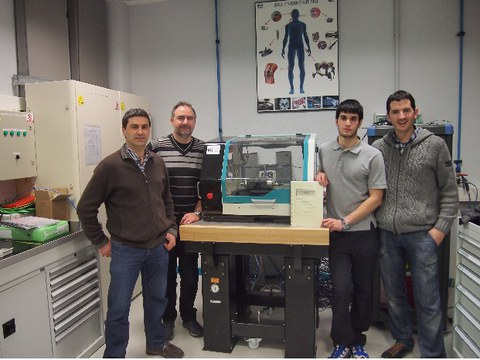 Mikel Carrasco, alumno de Mondragon Unibertsitatea gana el premio al mejor Proyecto Fin de Carrera 2013