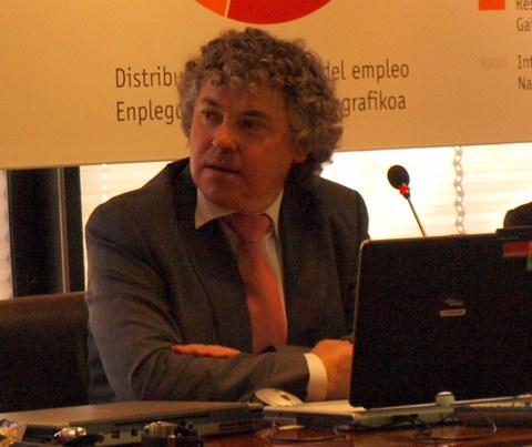 """Mikel Orobengoa: """"Queremos invitar a la gente a tomar parte en el foro Elkarbide"""""""
