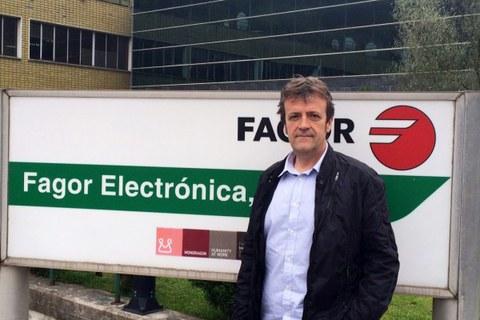 Mikel Trojaola, gerente de Fagor Electrónica, entrevistado en Onda Vasca