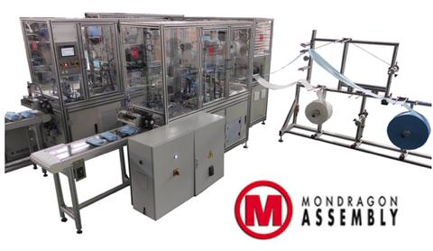 Mondragon Assembly entregará a principios de junio otras 6 líneas de fabricación de mascarillas
