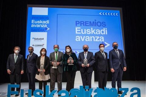 """Mondragon Assembly, Pyme del año en la cuarta edición de los premios """"Euskadi Avanza"""""""