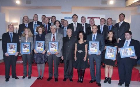 """MONDRAGON recibe el premio """"Cambio Financiero"""" a la empresa más innovadora"""