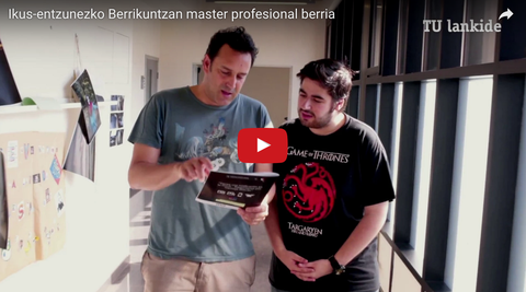 Mondragon Unibertsitatea estrenará un Máster Profesional en Innovación Audiovisual