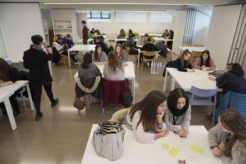Mondragon Unibertsitatea reúne en Tabakalera a alumnos de bachiller y FP