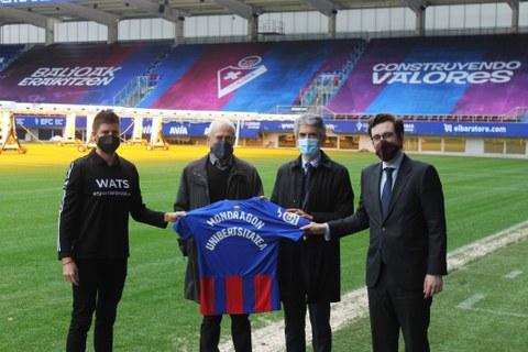 Mondragon Unibertsitatea, SD Eibar y WATS Team impulsarán la formación y la empleabilidad en el deporte