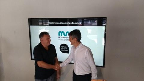 Mondragon Unibertsitatea y Batura Mobile firman un acuerdo de colaboración
