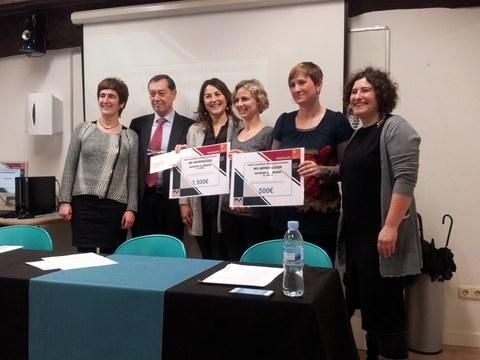 Mondragon Unibertsitatea y la Corporación MONDRAGON, premian los proyectos de fin de carrera realizados en euskera