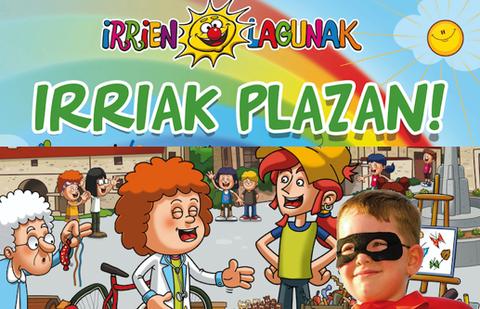 MondragonLingua, Irrien Lagunak y Pausoka Elkartea, organizan una jornada de espectáculo y juegos infantiles