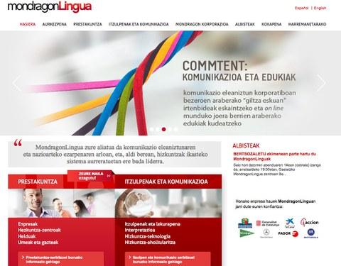 MondragonLingua renueva su imagen