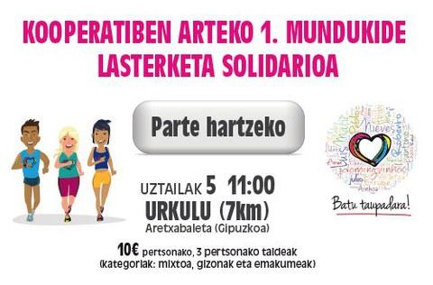 Mundukide organiza la primera carrera solidaria entre cooperativas